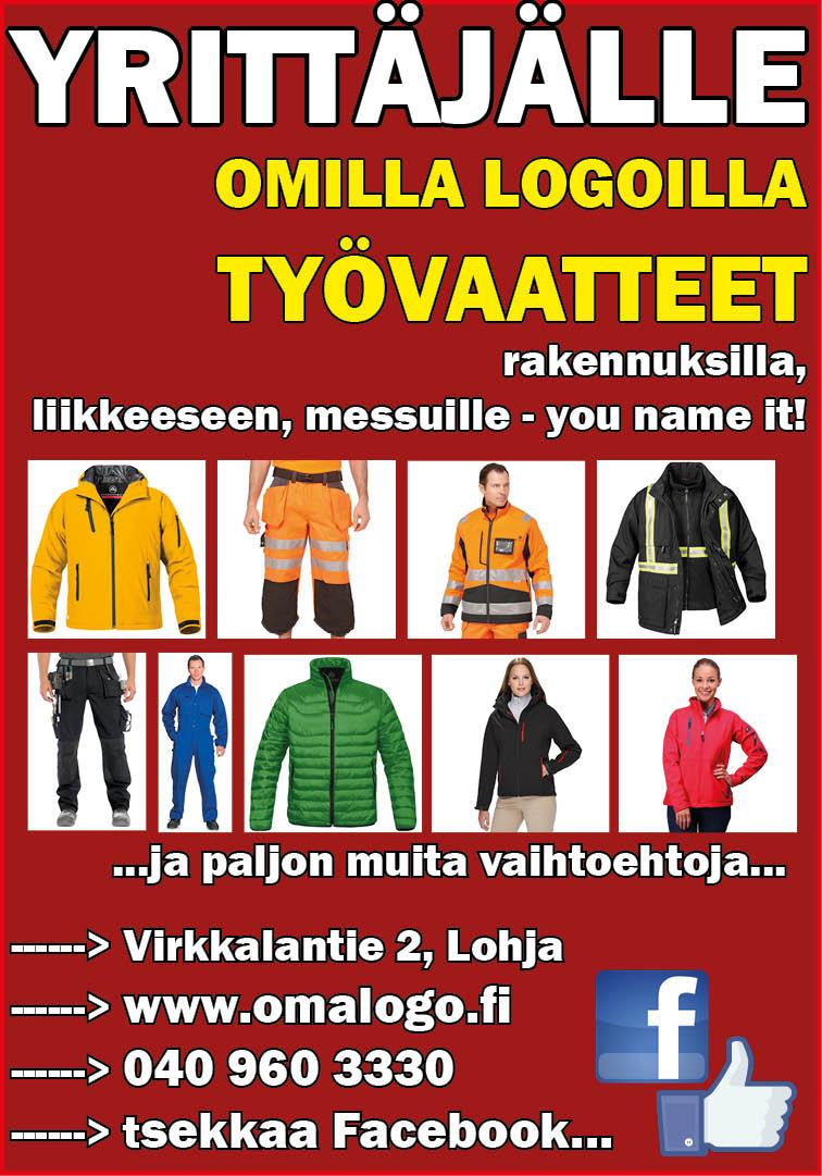 Työvaatteet uusiksi Oma Logon kautta  - OmaLogo Oy 1a47d5c8a0